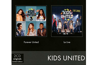 Kids United - Coffret 2 CD (Forever United & Le Live) [CD]