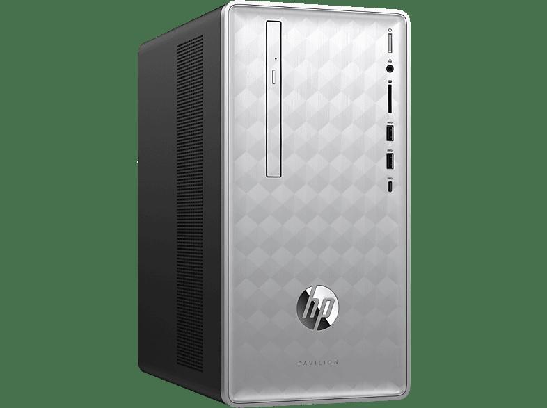 HP Desktop PC Pavilion 590-p0139nb AMD Ryzen 5 2400G (4MK21EA#UUG)