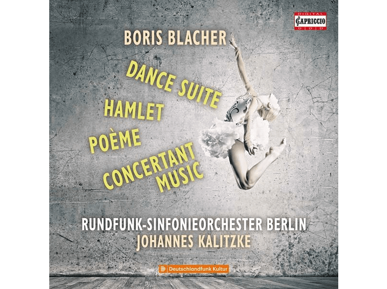 Kalitzke/Rundfunk-SO Berlin - Dance Suite/Poème/Hamlet/+ [CD]