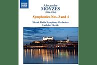 Ladislav/slovak Radio S Slovak - Sinfonien 3 & 4 [CD]