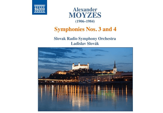 Ladislav/slovak Radio S Slovak - Sinfonien 3 & 4 - (CD)