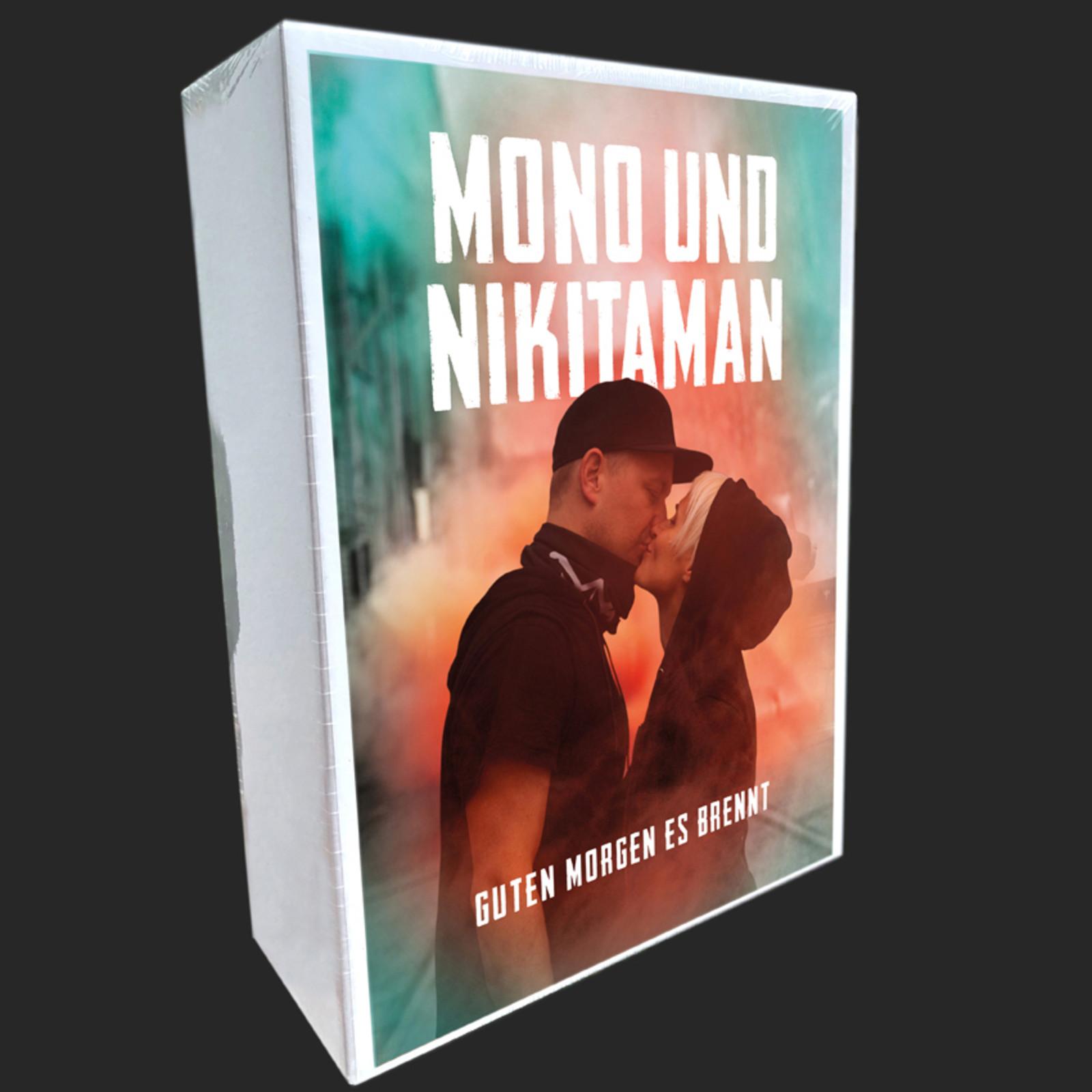 Details Zu Mono Nikitaman Guten Morgen Es Brennt Limited Bundle Cd Merchandising