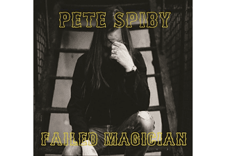 Pete Spiby - Failed Magician - (CD)