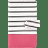 FUJIFILM Instax mini 9 striped Fotoalbum   , Flamingo Pink