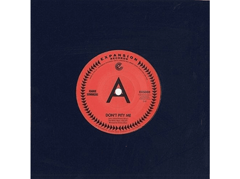 Joanie Sommers - DONT PITY ME/MY BLOCK [Vinyl]