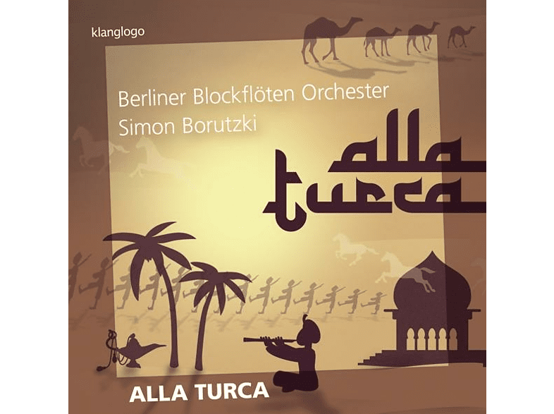 Borutzki,Simon/Thiele,Nora/Berliner Blockflöten Or - Alla Turca [CD]