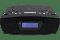 SOUNDMASTER URD480WE CD-Radio (Digital, DAB+, UKW, Schwarz)