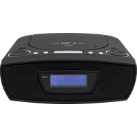 SOUNDMASTER URD480WE CD-Radio (Digital, DAB+, UKW, Schwarz)