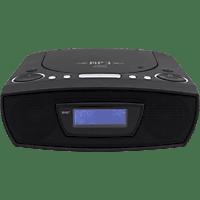 SOUNDMASTER URD480WE CD-Radio Digital, Schwarz