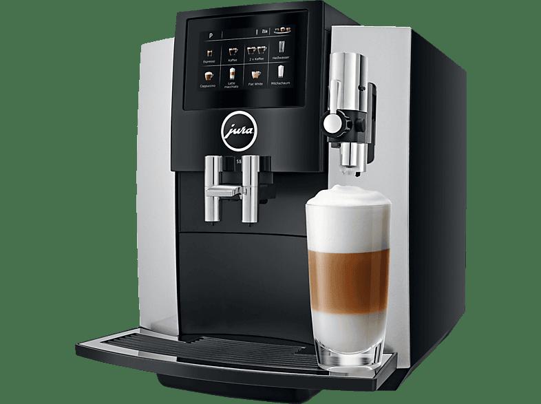JURA S8 Moonlight Silver Kaffeevollautomat Silber/Schwarz