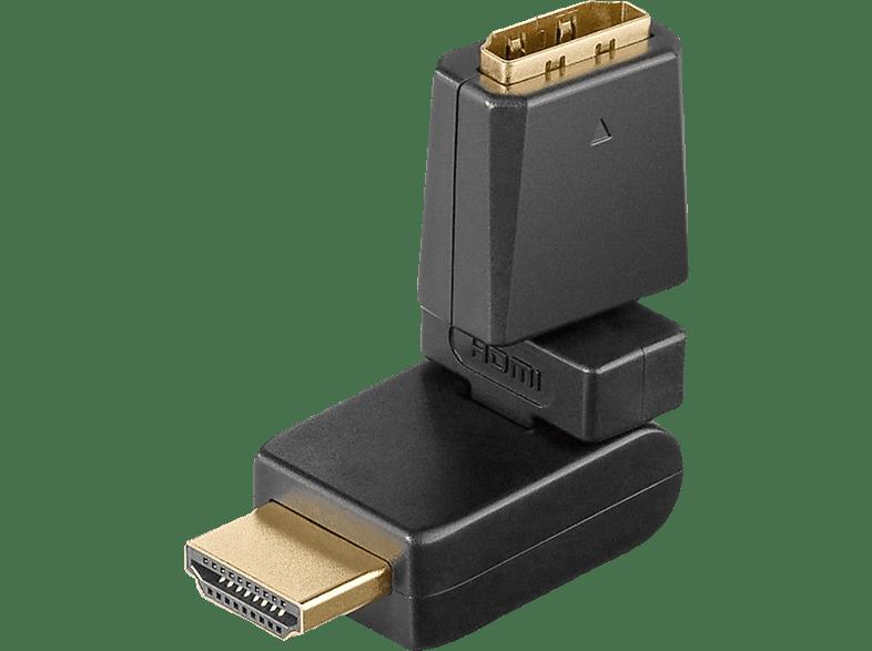 GOOBAY 360°, HDMI Winkeladapter