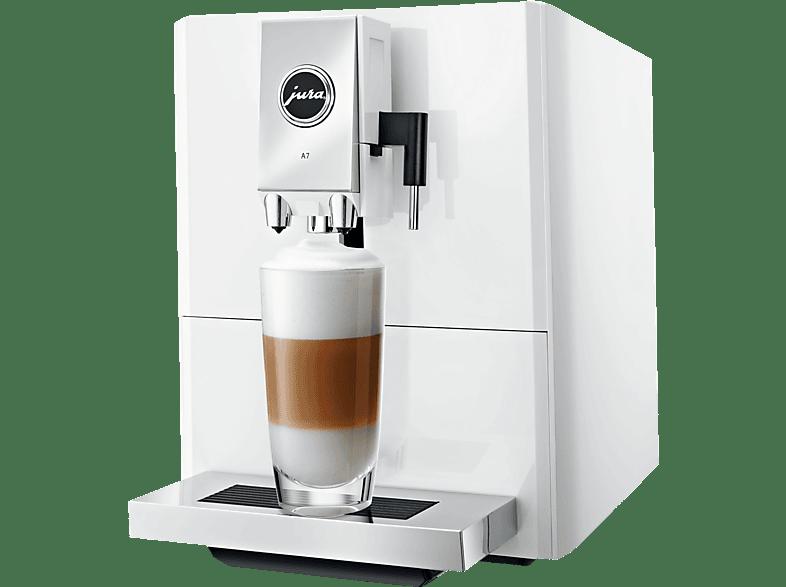 JURA A7 Kaffeevollautomat Piano White