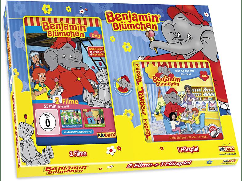 002 - BENJAMIN BLÜMCHEN GESCHENKBOX [DVD]