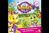 Safiras - 008/Lavender und das neue Parfüm/Lupin und die B - (CD)