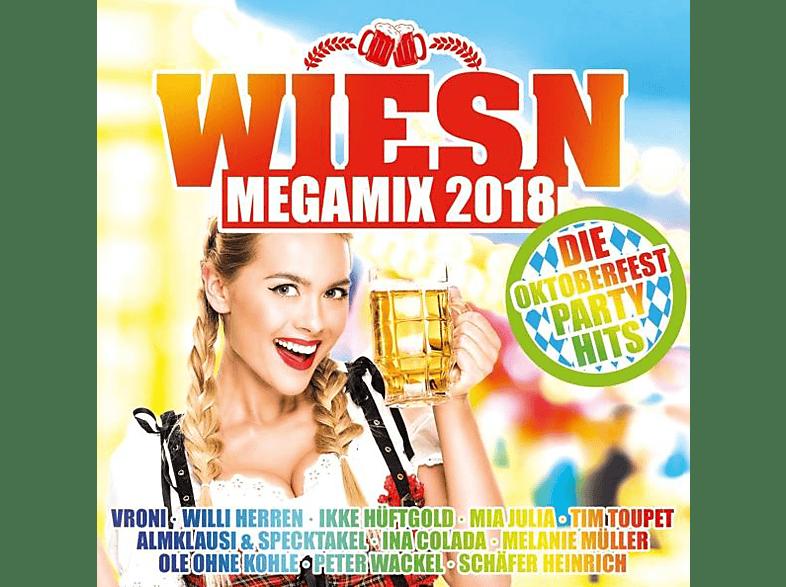 VARIOUS - Wiesn Megamix 2018-Die Oktoberfes [CD]