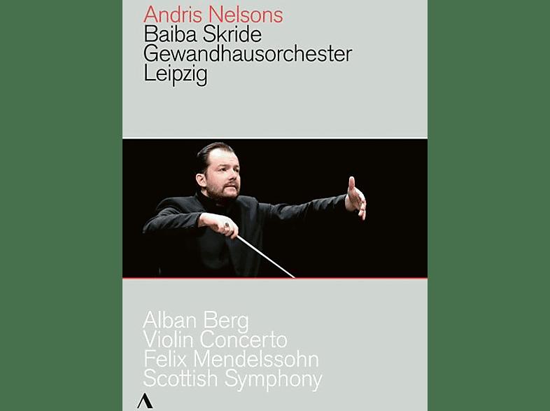 Baiba Skride, Gewandhausorchester Leipzig - Violin Concerto/Scottish Symph [DVD]