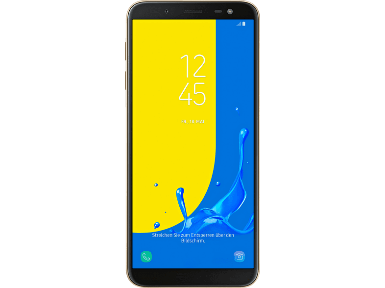 Samsung Galaxy J6 32 Gb Gold Dual Sim 32 Smartphone Mediamarkt