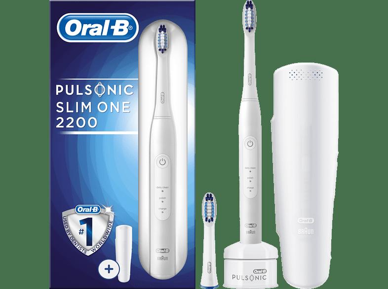 ORAL-B Pulsonic Slim One 2200 elektrische Zahnbürste weiß