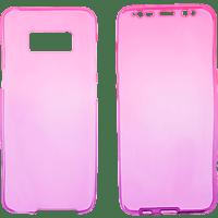 V-DESIGN V-LV 072 , Full Cover, Samsung, Galaxy S8, Thermoplastisches Polyurethan, Pink/Violett