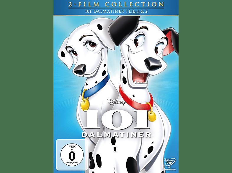 101 Dalmatiner 1+2 [DVD]