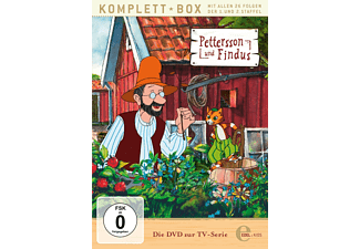 DVD zur TV-Serie Staffel 1+2-Alle Abenteuer - Pettersson Und Findus DVD