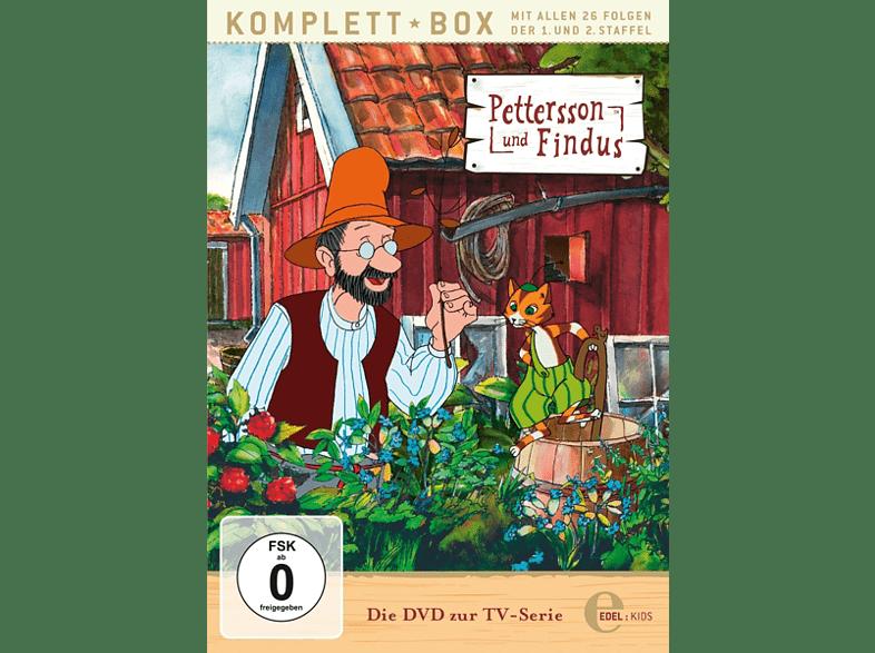 DVD zur TV-Serie Staffel 1+2-Alle Abenteuer - Pettersson Und Findus [DVD]