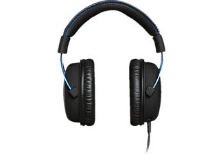 HYPERX Cloud PS4, Over-ear Gaming Headset Schwarz/Blau