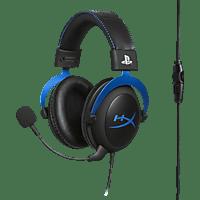 HYPERX Cloud PS4 Gaming Headset, Schwarz/Blau