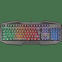 TRUST Gaming GXT 830-RW Avonn, Gaming Tastatur, Rubberdome, Sonstiges