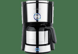 SEVERIN KA 4845 Type Switch Kaffeemaschine Edelstahl gebürstet/Schwarz