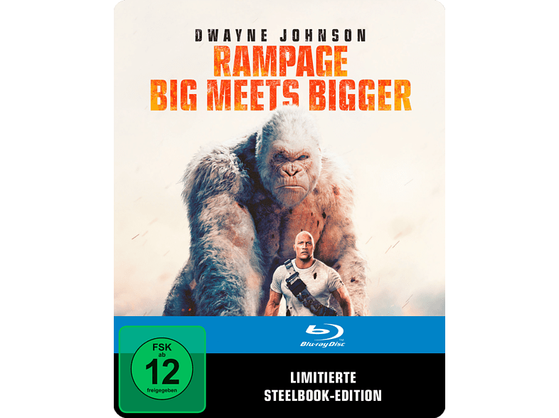 Rampage: Big Meets Bigger (SteelBook®) [Blu-ray]