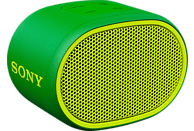 SONY Bluetooth Lautsprecher SRS-XB01, tragbar, kabellos, spritzwassergeschützt, grün