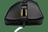 HYPERX Pulsefire FPS Pro RGB Gaming Maus, Schwarz/Leuchtfarbe: Mehrfarbig