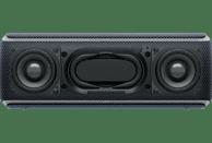 SONY SRS-XB21 Wireless Party Chain Bluetooth Lautsprecher, Schwarz, Wasserfest