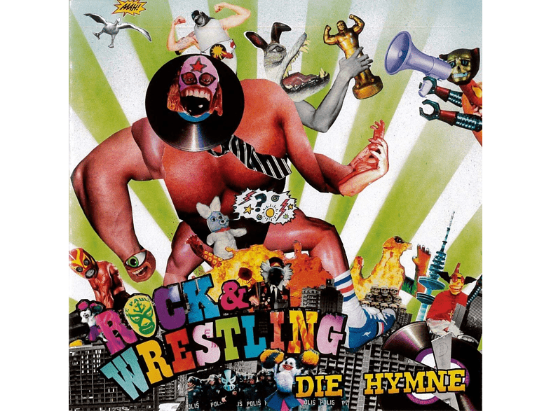"Nik Neandertal, Boy Division, The Cheating Hearts - Rock & Wrestling-Die Hymne (Split 7"") [Vinyl]"