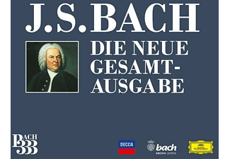 Diverse Klassik - BACH 333-Die Neue Gesamtausgab  - (CD + DVD Video)