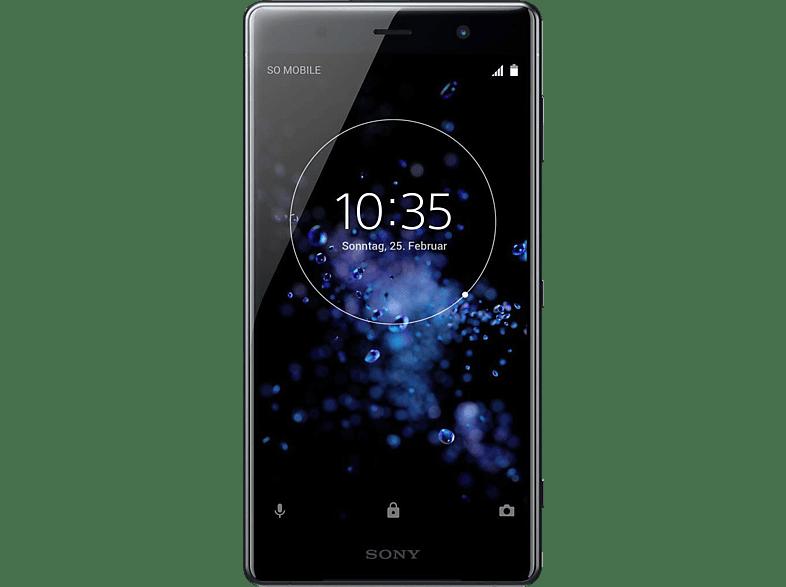 SONY Xperia XZ2 Premium 64 GB Chrom-Schwarz Dual SIM