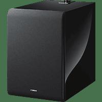 YAMAHA MusicCast SUB 100 (NS-NSW100) Lautsprecher App-steuerbar, Schwarz Piano Optik
