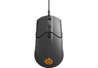 Ratón gaming - SteelSeries Sensei 310, Óptico, Retroiluminado, Memoria integrada, Negro