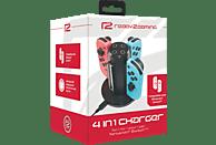 READY 2 GAMING R2GNSW4IN1CHA Nintendo Switch Ladestation, Schwarz