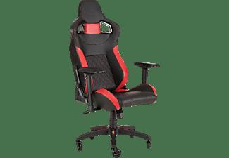 Silla Gaming - Corsair T1 Race, Reposabrazos movimiento 4D, Polipiel, Rojo