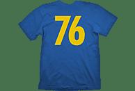 GAYA ENTERTAINMENT Fallout Vault 76 T-Shirt T-Shirt, Blau