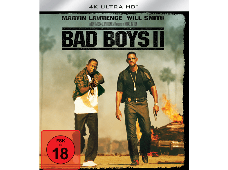 Bad Boys II [4K Ultra HD Blu-ray]