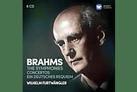 Wilhelm Furtwängler, Yehudi Menuhin, Willy Boskovsky, Fischer Edwin - Sinfonien/Konzerte/Ein Deutsches Requiem [CD]