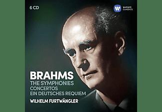 Wilhelm Furtwängler, Yehudi Menuhin, Willy Boskovsky, Fischer Edwin - Sinfonien/Konzerte/Ein Deutsches Requiem  - (CD)