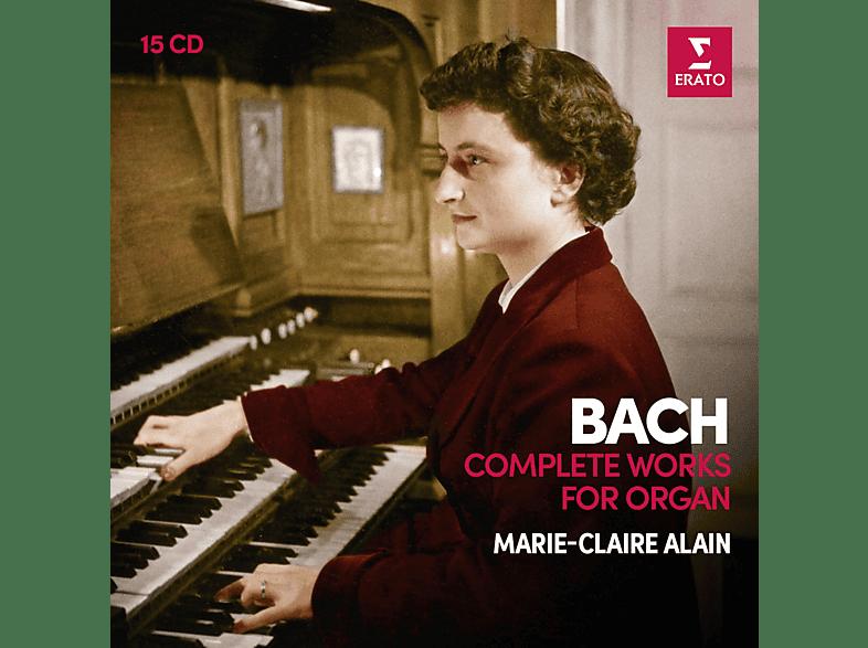 Marie-Claire Alain - Sämtliche Werke für Orgel [CD]