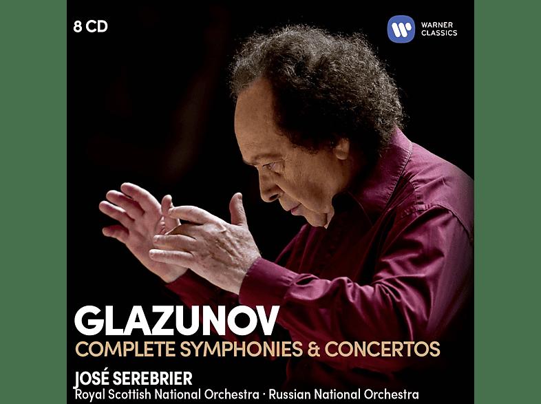 Russian National Orchestra, Royal Scottish National Orchestra, VARIOUS - Sämtliche Sinfonien & Konzerte [CD]
