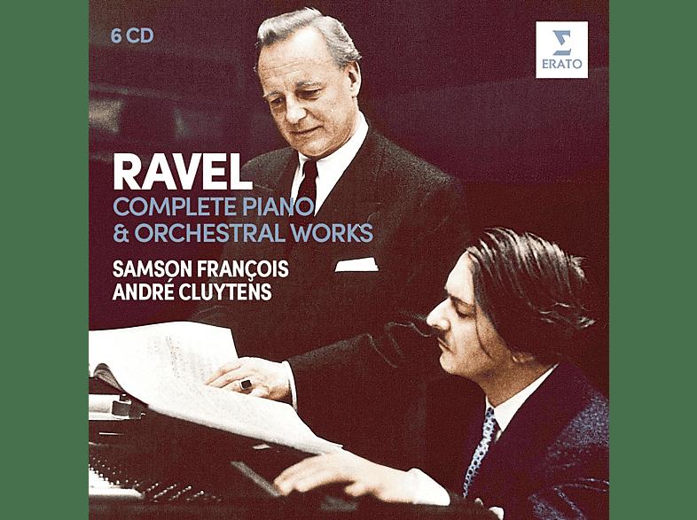 Orchestre De La Société Des Concerts Du Conservatoire, Francois Samson - Sämtliche Klavier-& Orchesterwerke [CD]