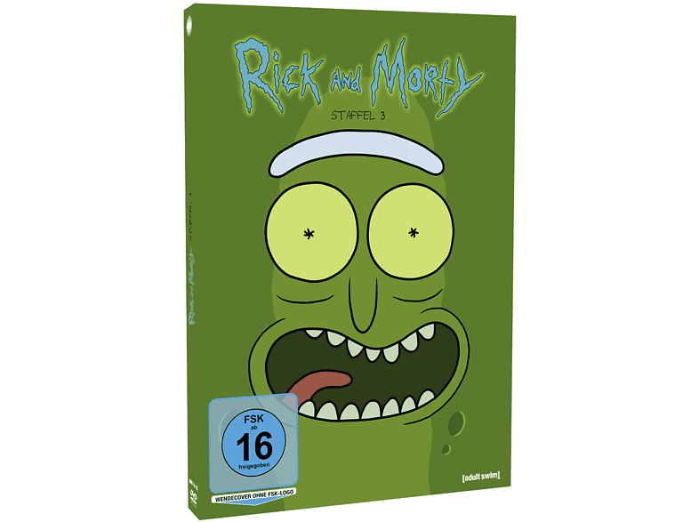 Rick and Morty Staffel 3 [DVD]
