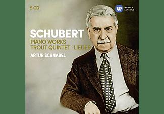 Artur Schnabel, VARIOUS - Klavierwerke/Forellenquintett/Lieder  - (CD)
